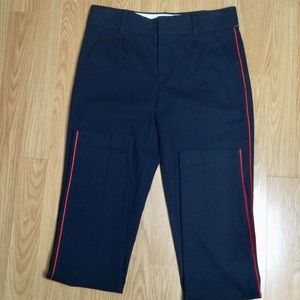 Juicy Couture classic blue pants with red piping